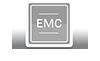 Built-in EMC filters compliant with Class C2 EN 61800-3-2004 standard